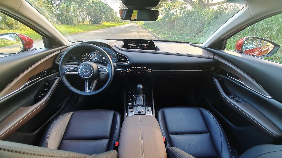 Mazda CX-30 AWD Sport AT Interior