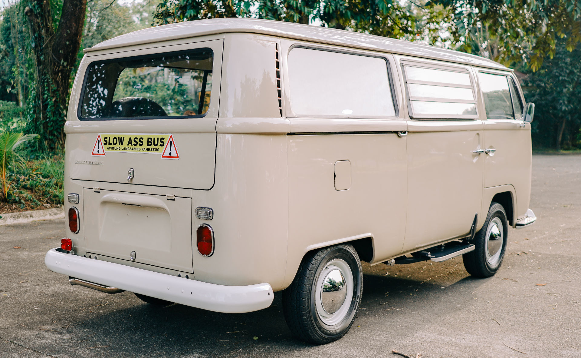 Volkswagen Type 2 angled rear view