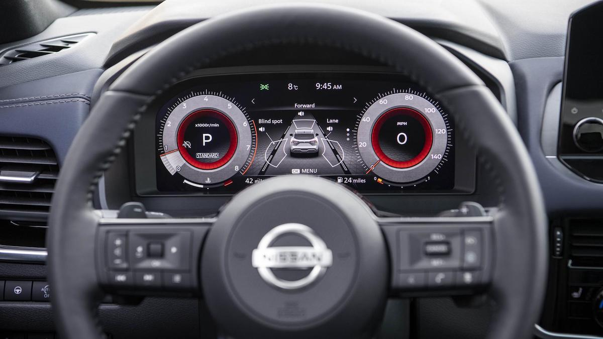 The Nissan Qashqa Odometer
