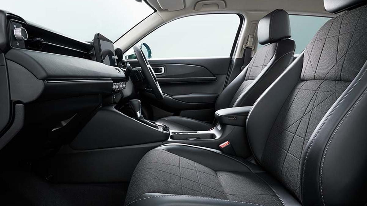 Honda HR-V interior from front passenger seat POV