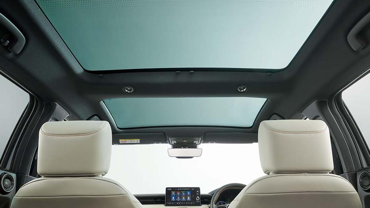 Honda HR-V sunroof