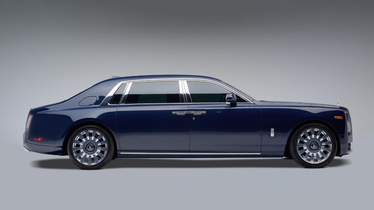 Rolls-Royce Phantom profile view