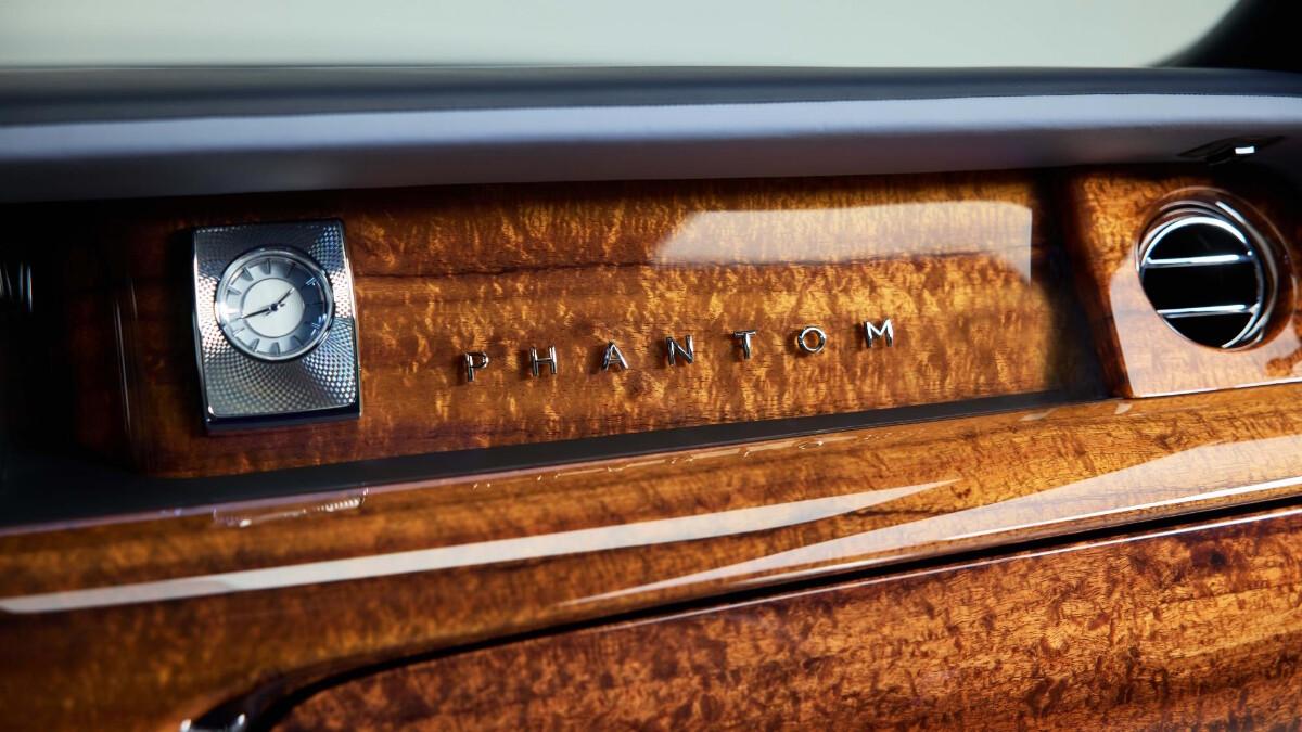 Rolls-Royce Phantom interrior feature Koa wood