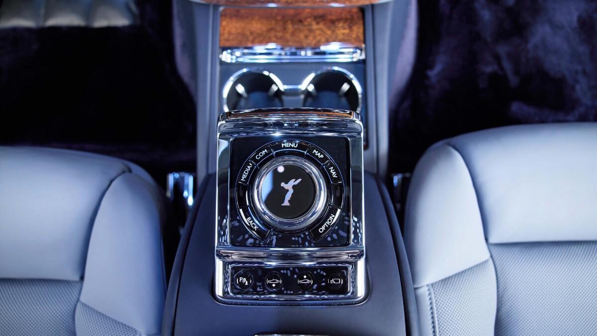 Rolls-Royce Phantom center console