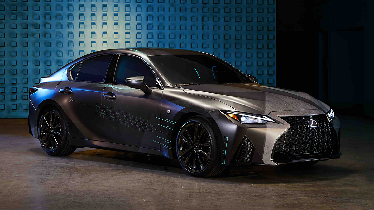 The Custom Lexus IS350 F Sport made for gamers