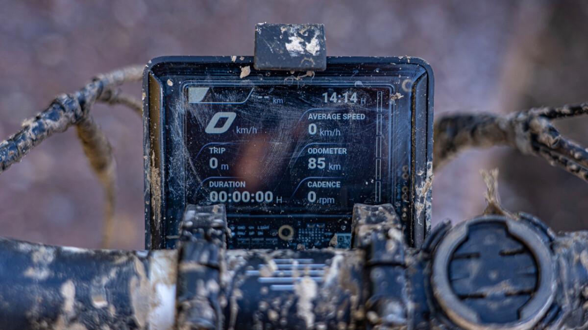 The Greyp G6 e-MTB odometer