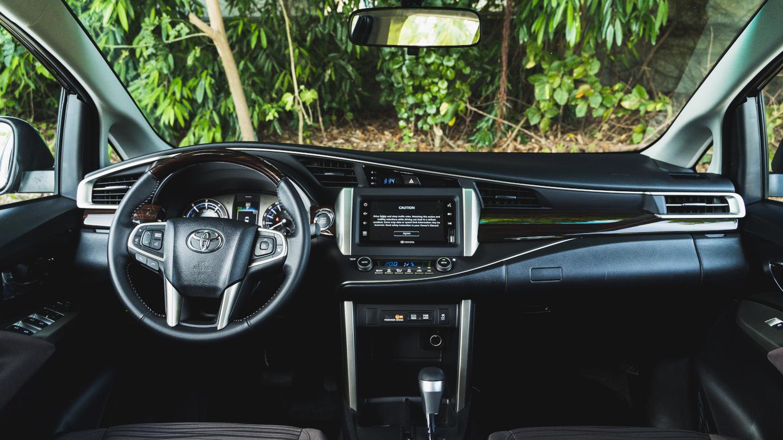 The 2021 Toyota Innova dashboard