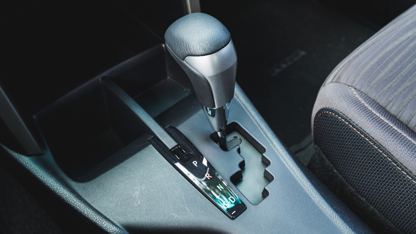 The 2021 Toyota Innova shift stick