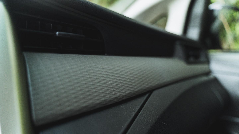 The 2021 Toyota Innova in Freedom White Dashboard Detail