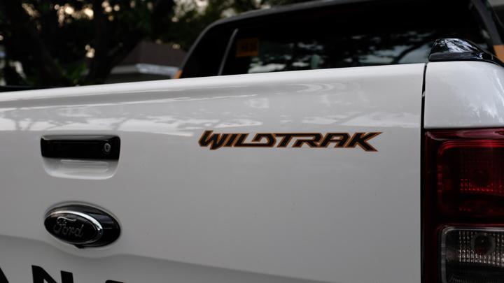 Ford Ranger Wildtrak decal