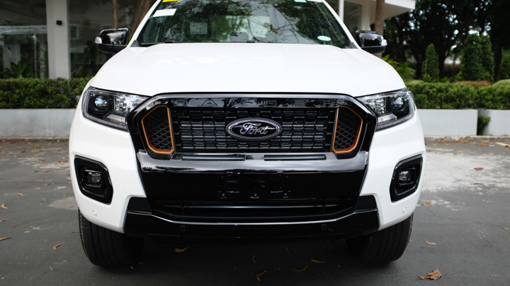 Ford Ranger Wildtrak front view