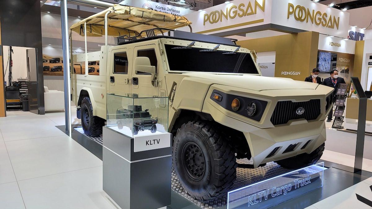 Kia Tactical Vehicles in Korea