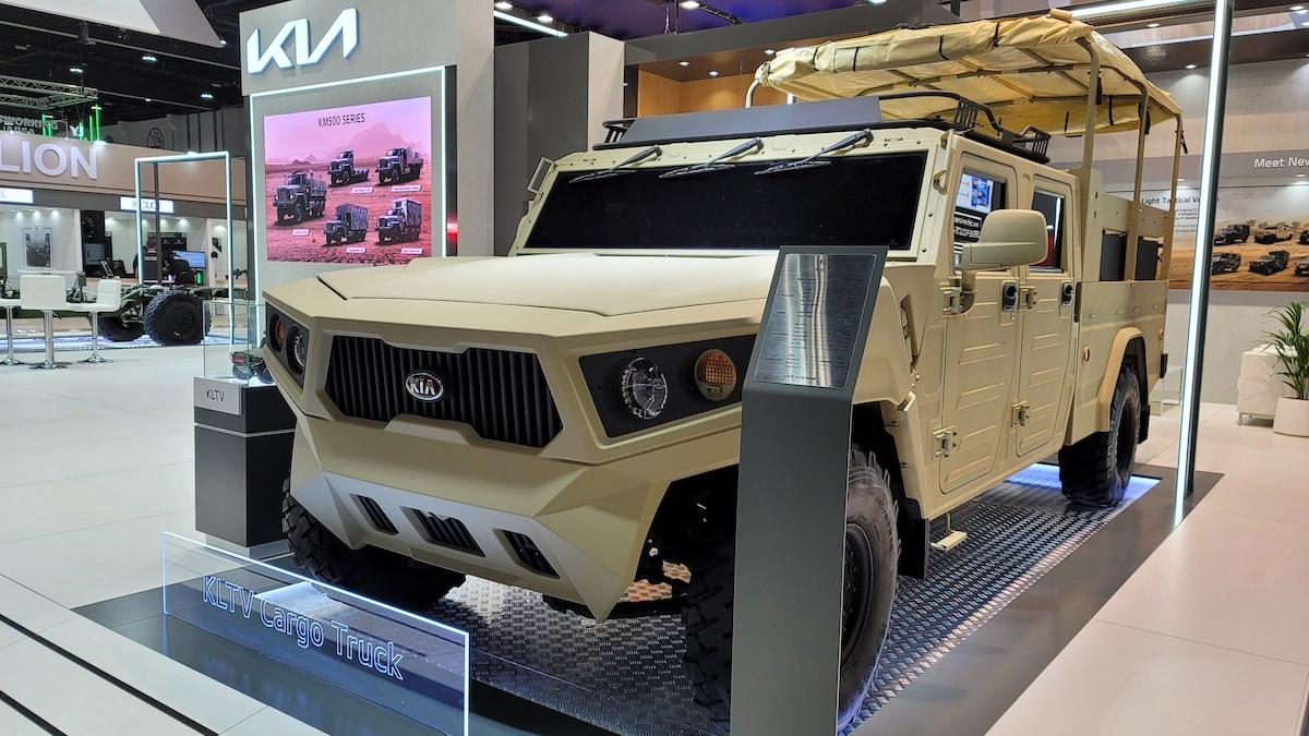 Light Tactical Cargo Truck concept