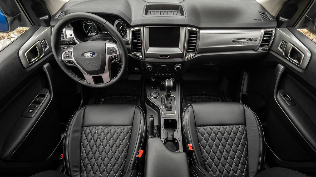 Roush Ford Ranger interior