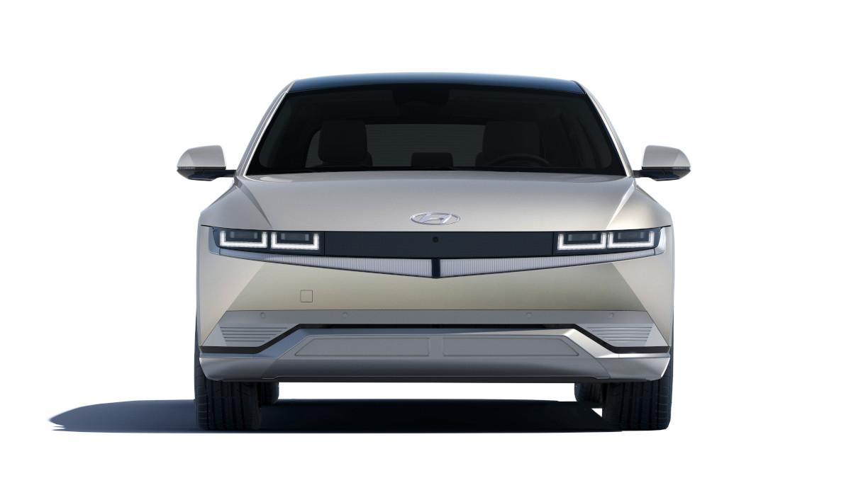 Hyundai Ioniq 5 front view