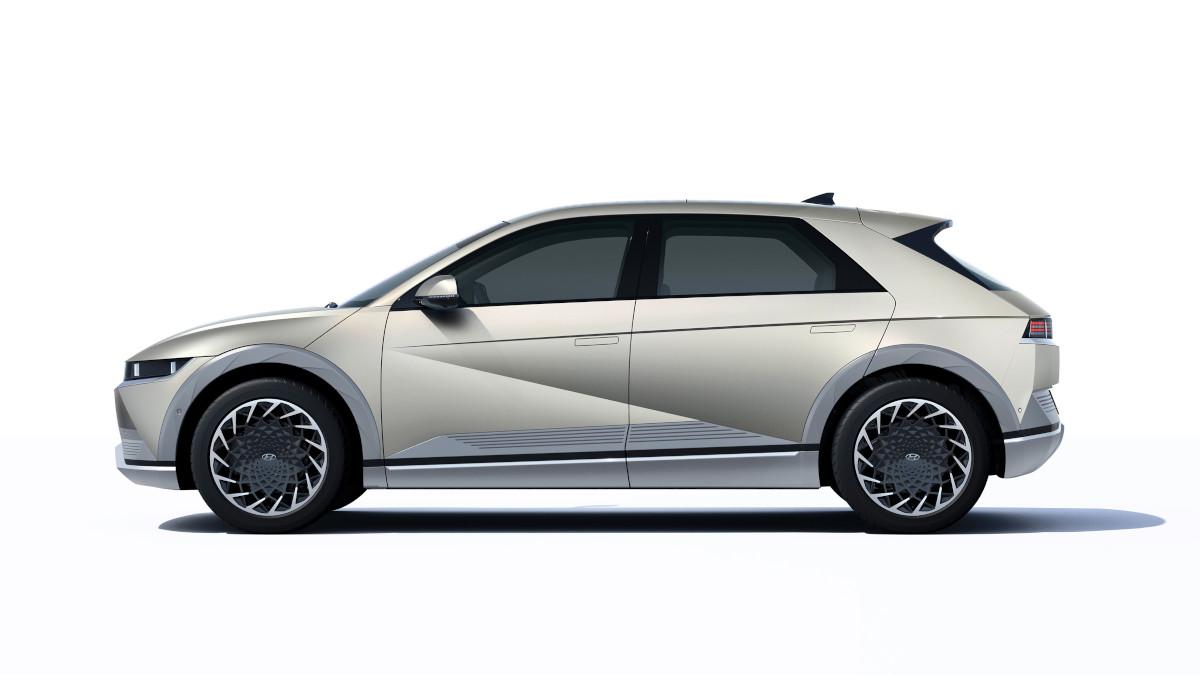 Hyundai Ioniq 5 profile concept