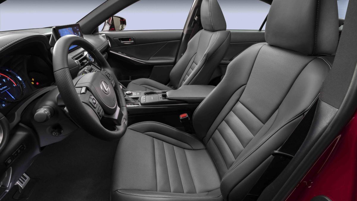2022 Lexus IS500 F Sport Performance front passenger's seat