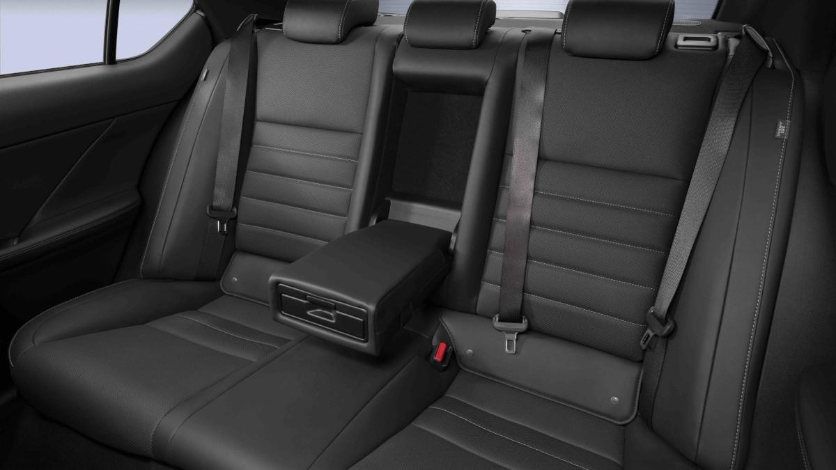 2022 Lexus IS500 F Sport Performance rear passengers seat