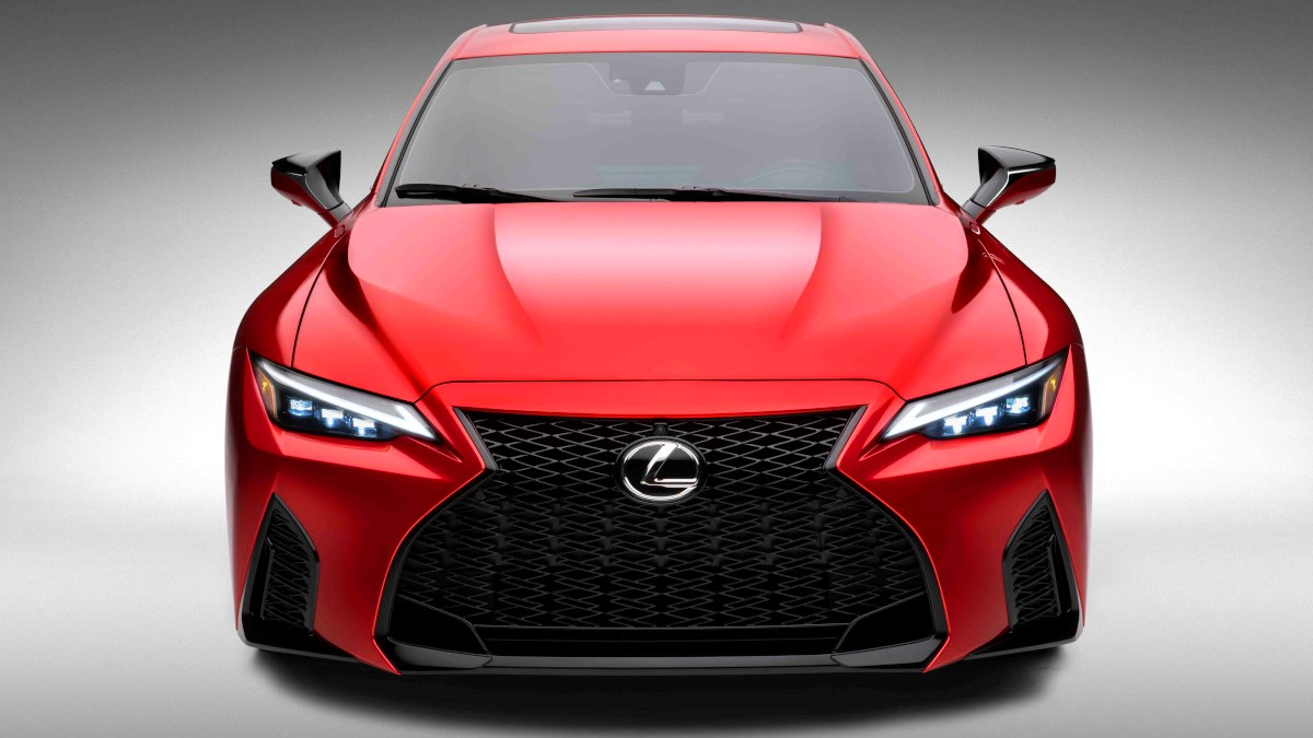 2022 Lexus IS500 F Sport Performance front view