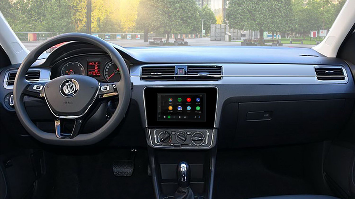 The Volkswagen Santana Dashboard