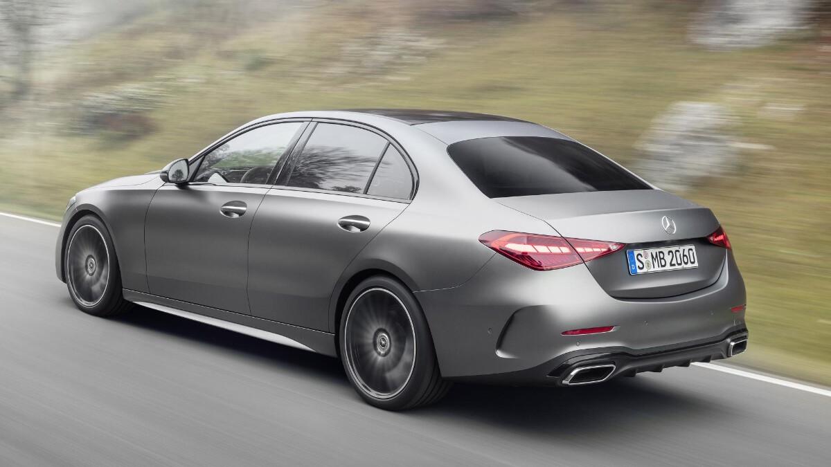 Mercedes-Benz C-Class in Grey, alternative angle