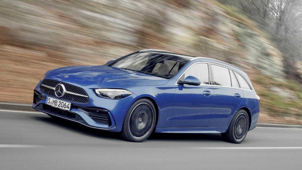 Mercedes-Benz C-Class in Blue