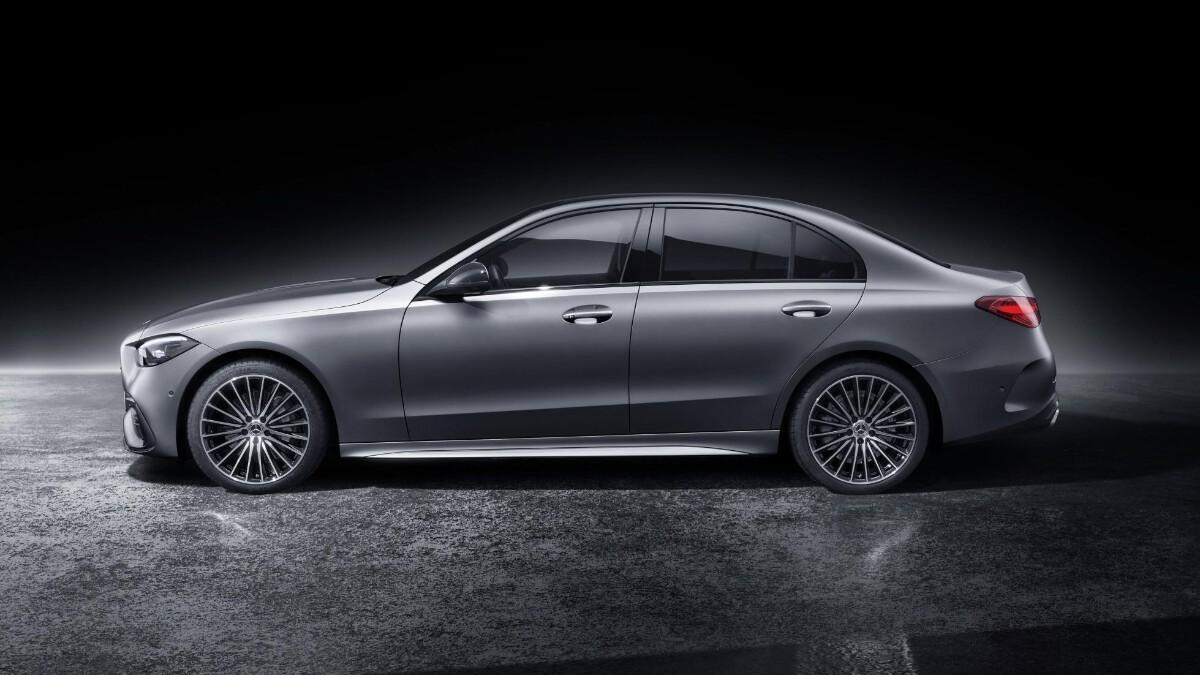 Mercedes-Benz C-Class in Grey Profile