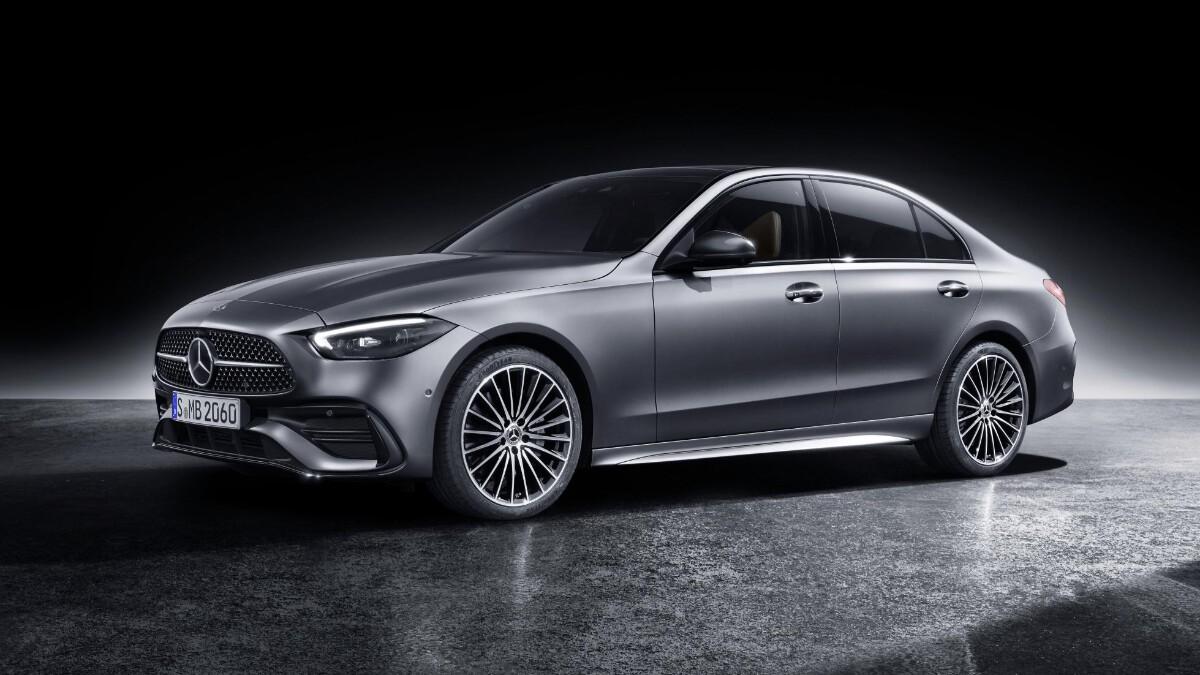 Mercedes-Benz C-Class alternative angle