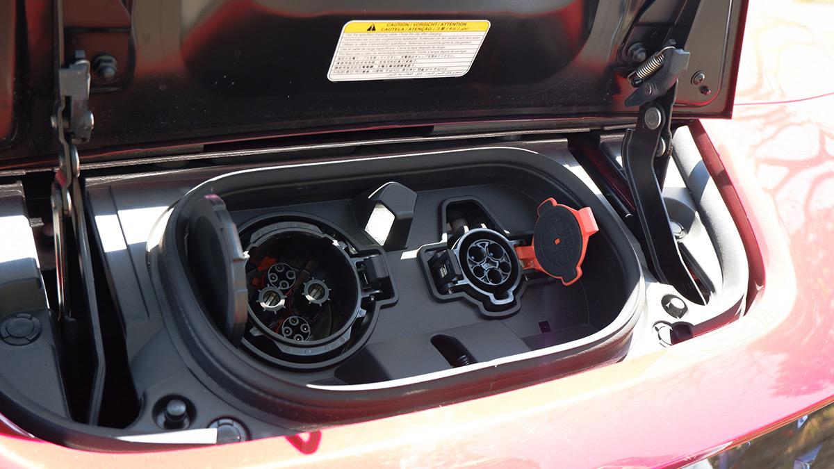 Nissan Leaf Charging Port