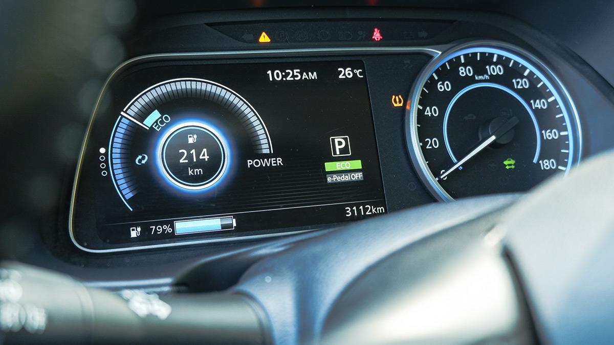 Nissan Leaf Odometer