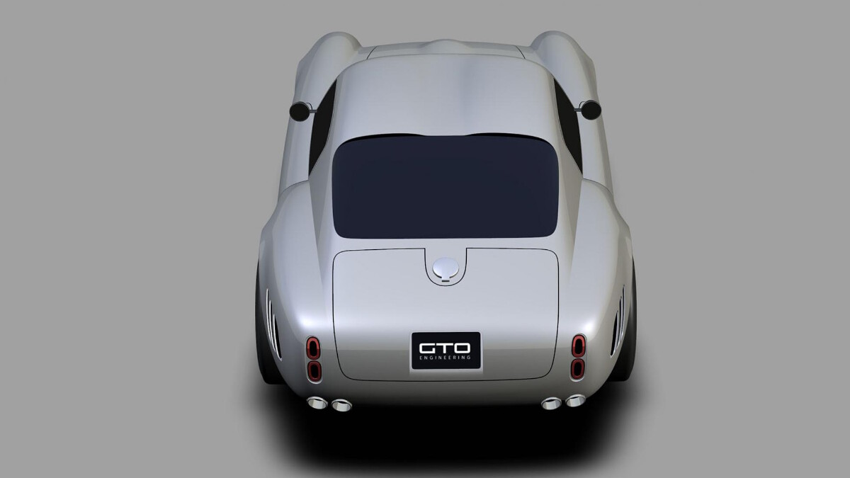 GTO Engineering's Moderna top angle rear view