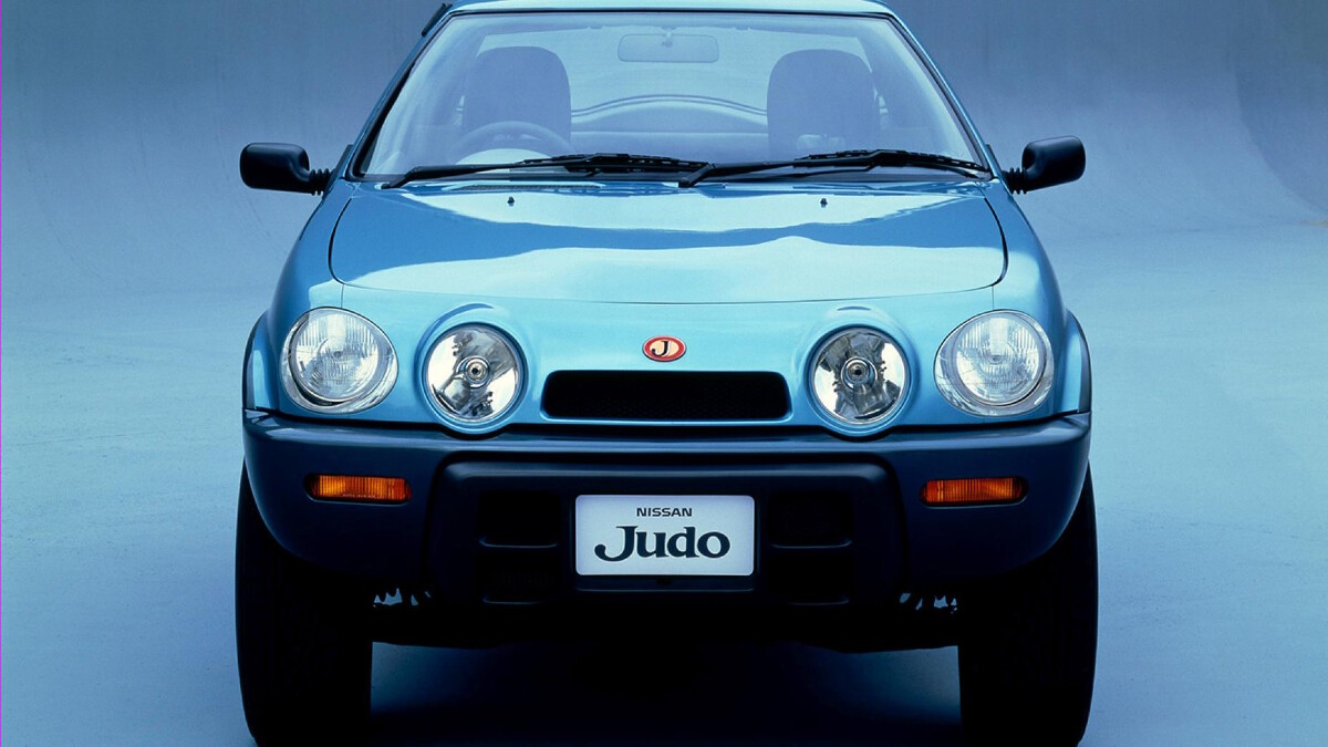 The Nissan Judo front view