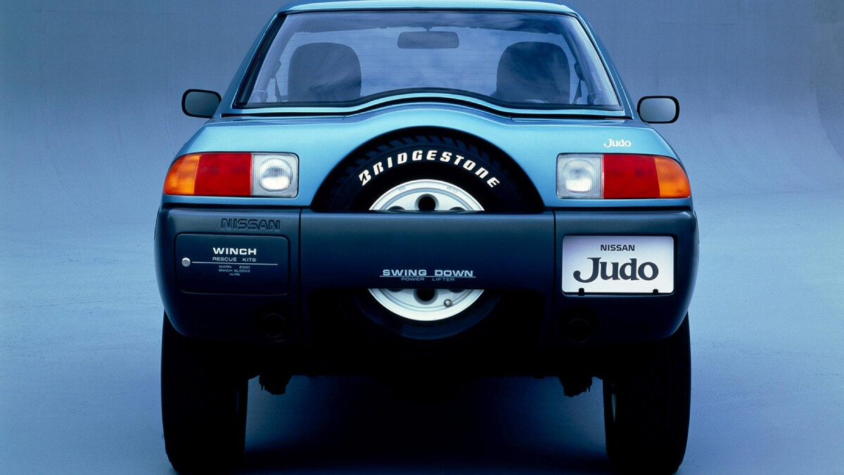 The Nissan Judo rear view