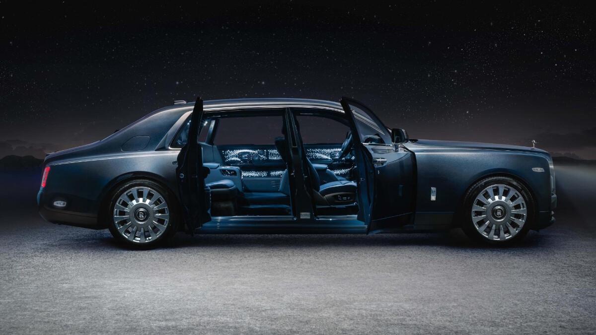 Rolls-Royce Phantom Tempus Collection doors opened