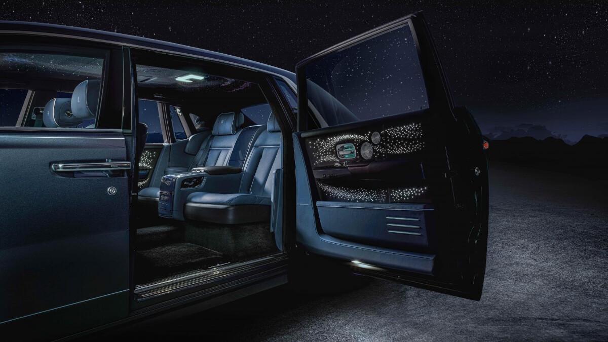 Rolls-Royce Phantom Tempus Collection rear passengers seat