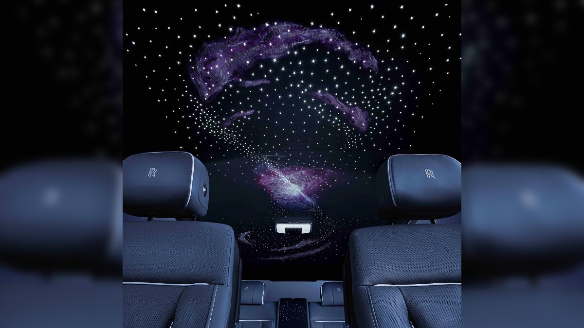 Rolls-Royce Phantom Tempus Collection celing