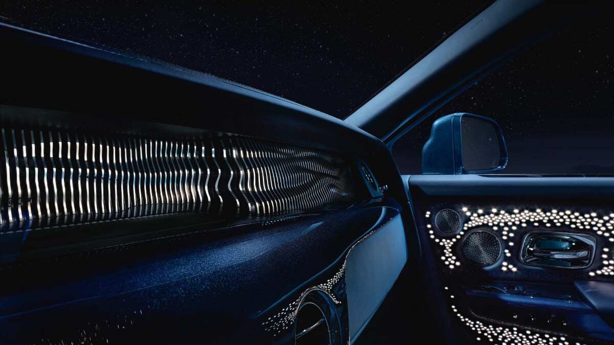 Rolls-Royce Phantom Tempus Collection dashboard