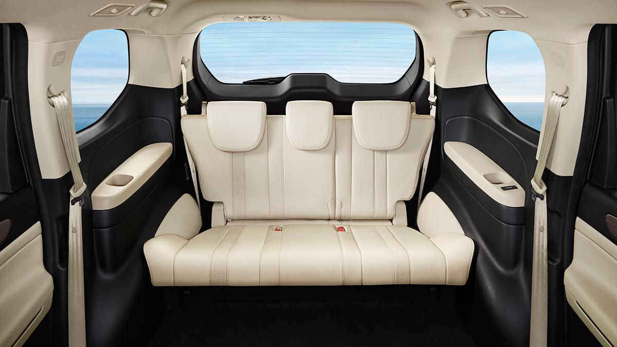 The GAC GN6 rear passenger seats