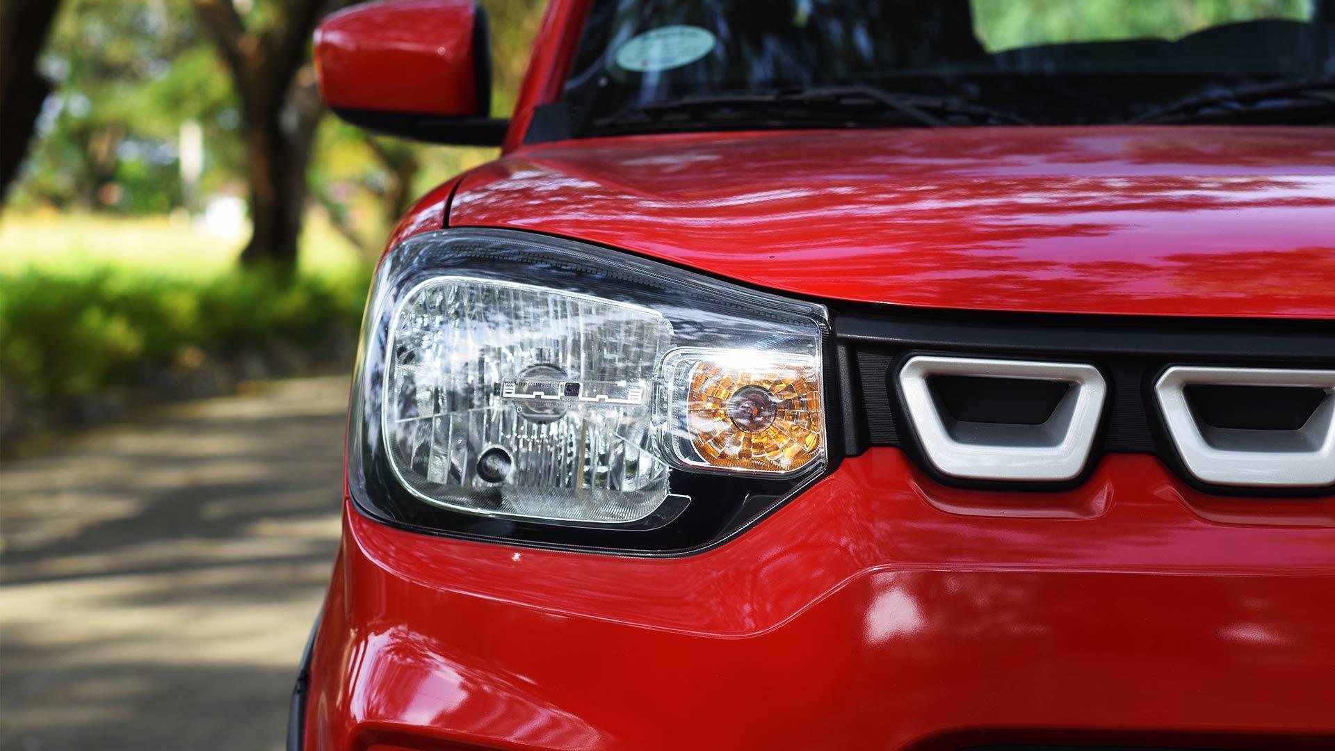 The Suzuki S-Presso head lamp