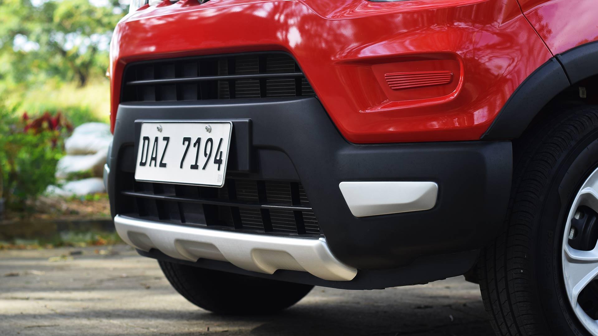 The Suzuki S-Presso bumper