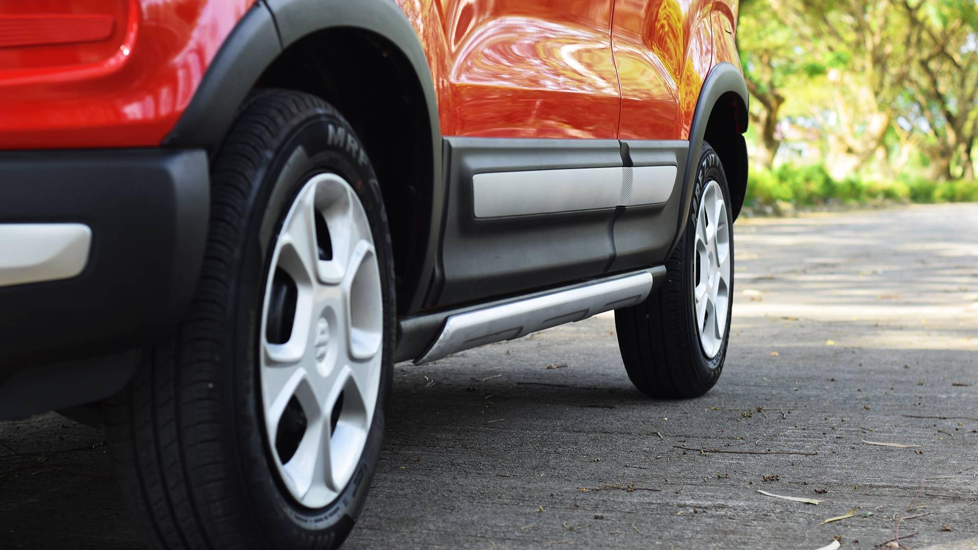 The Suzuki S-Presso wheels