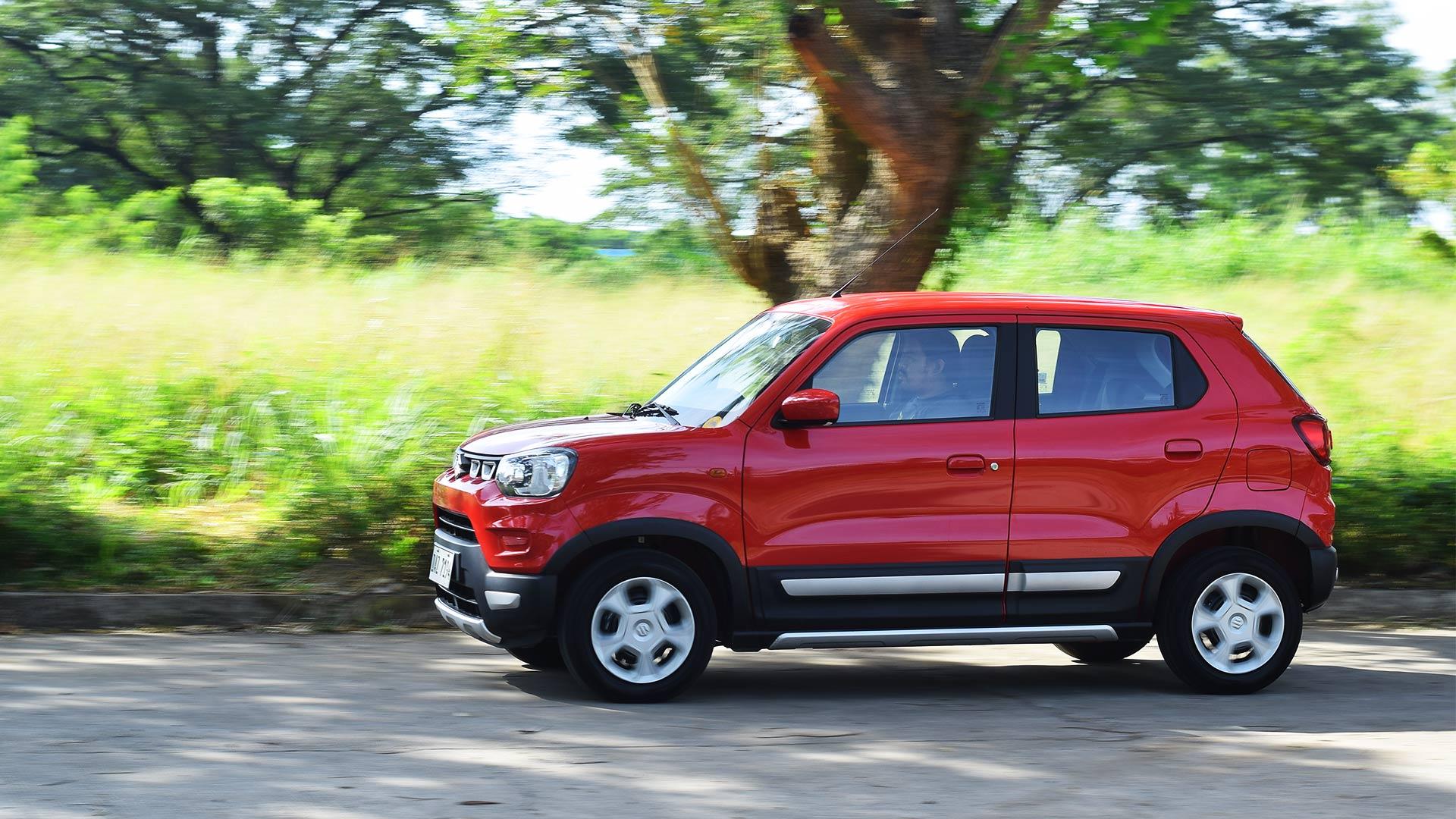 The Suzuki S-Presso profile