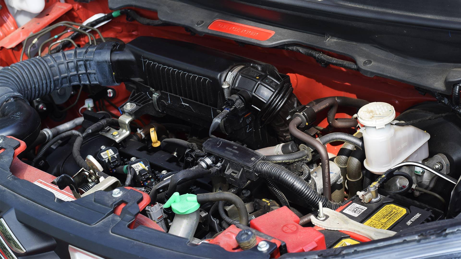 The Suzuki S-Presso engine