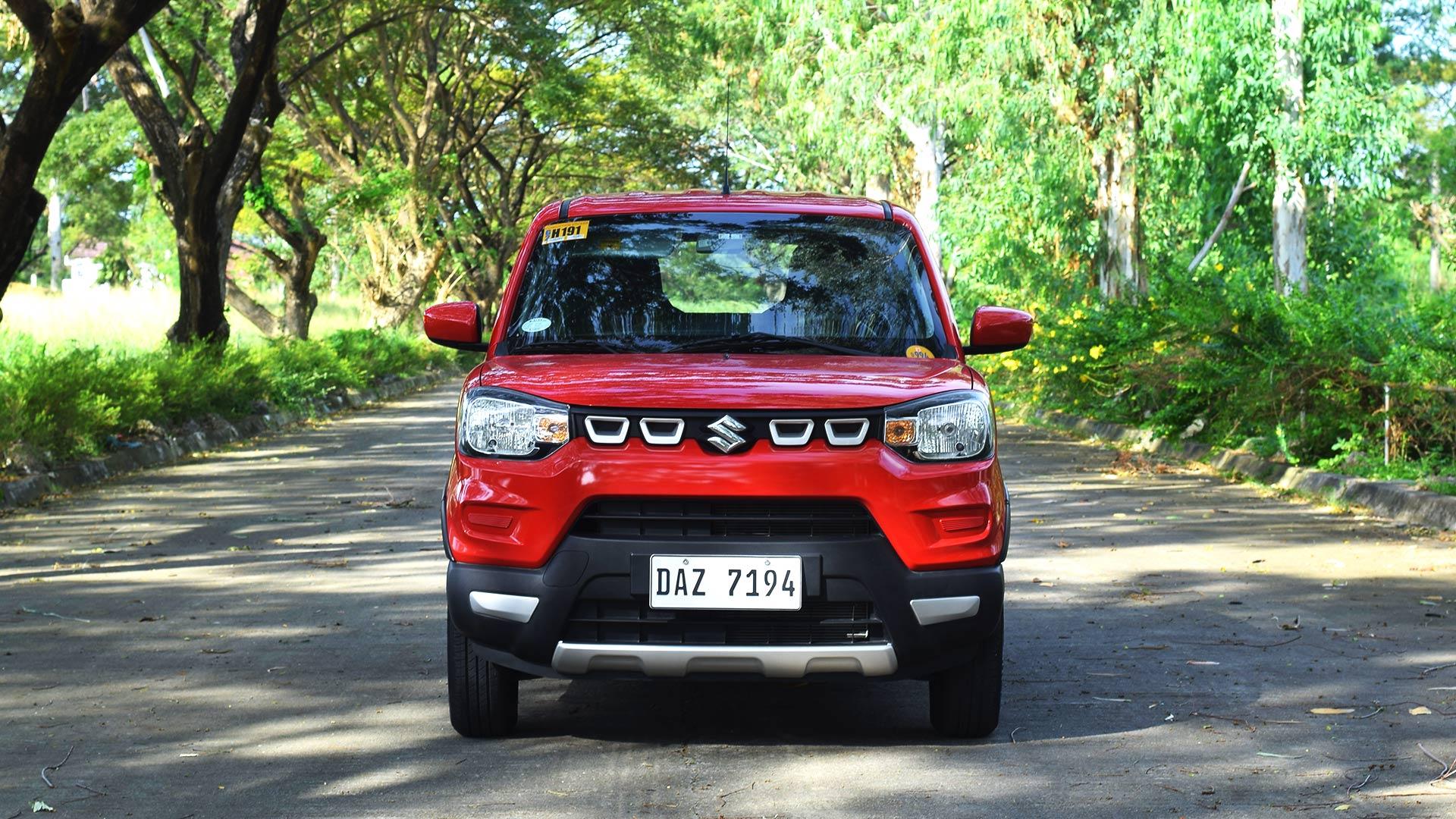 The Suzuki S-Presso front view