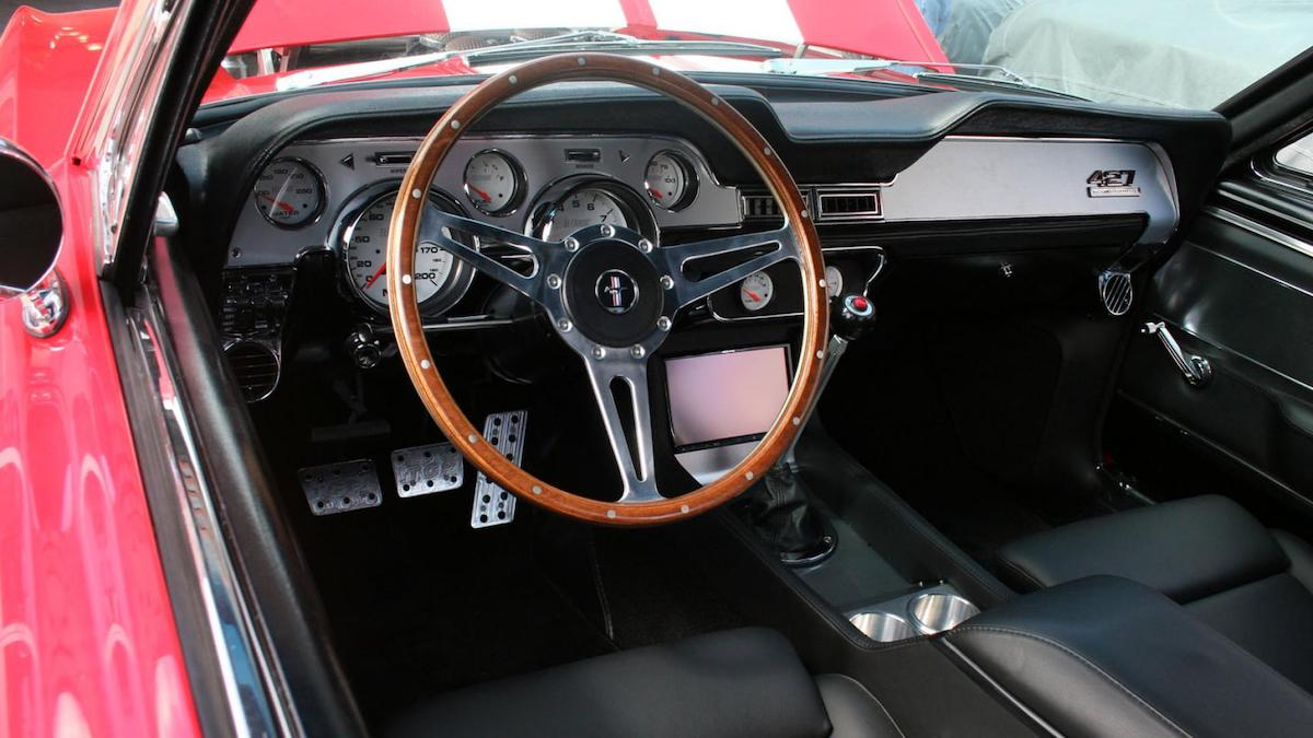 The 'Eleanor' Ford Mustang by Fusion Motor dashboard