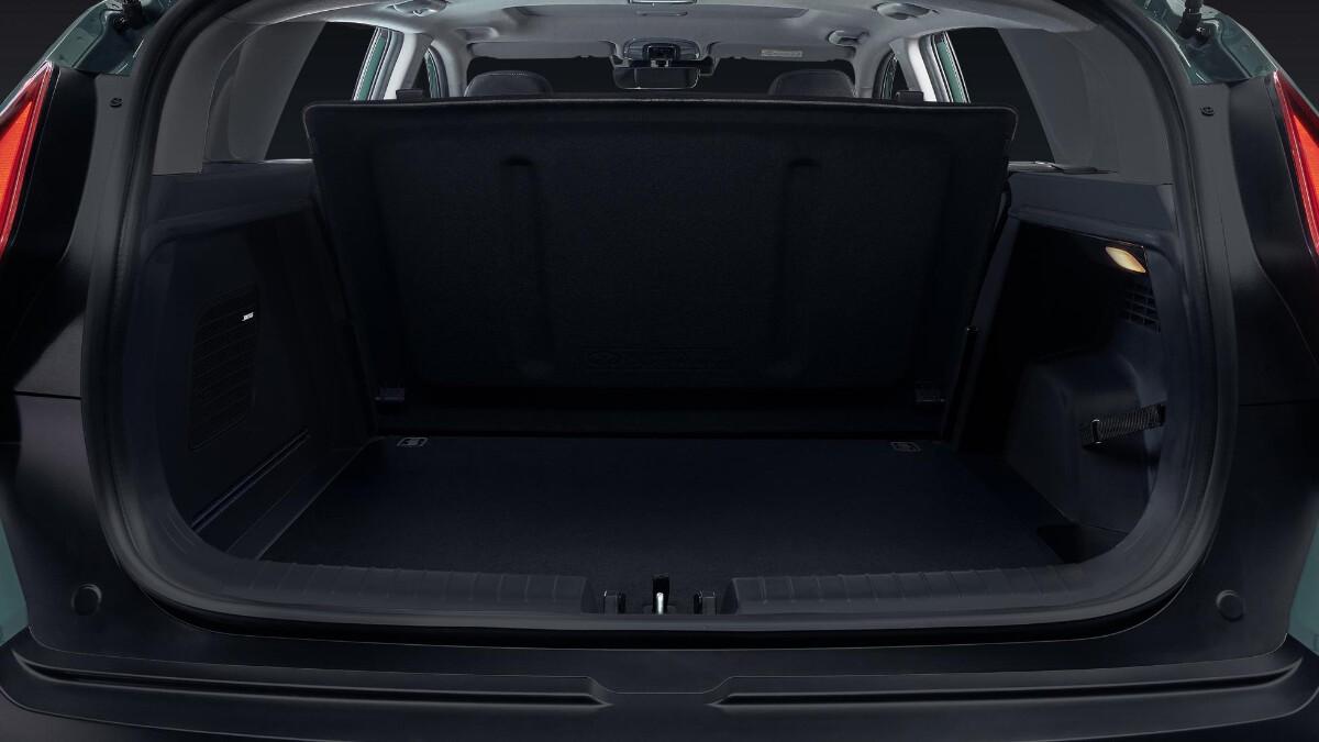 The Hyundai Bayon trunk and storage