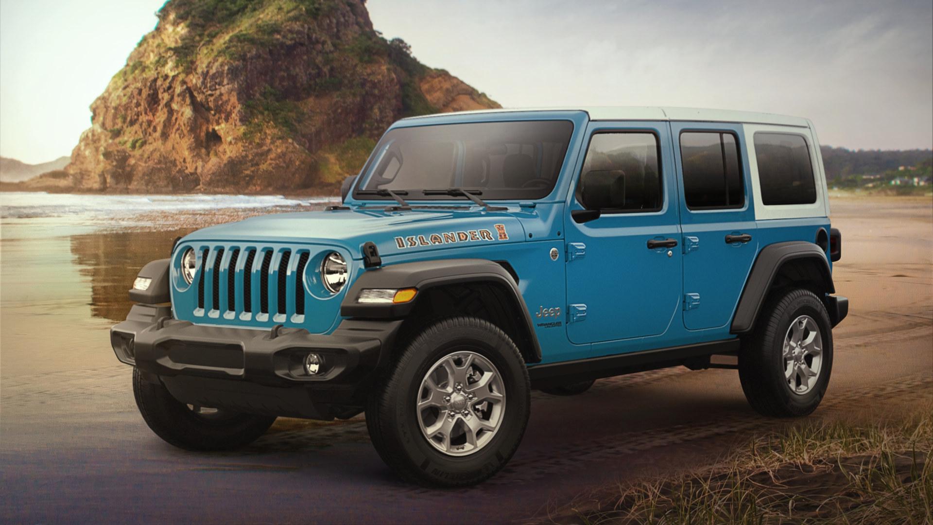 The Jeep Renegade Islander