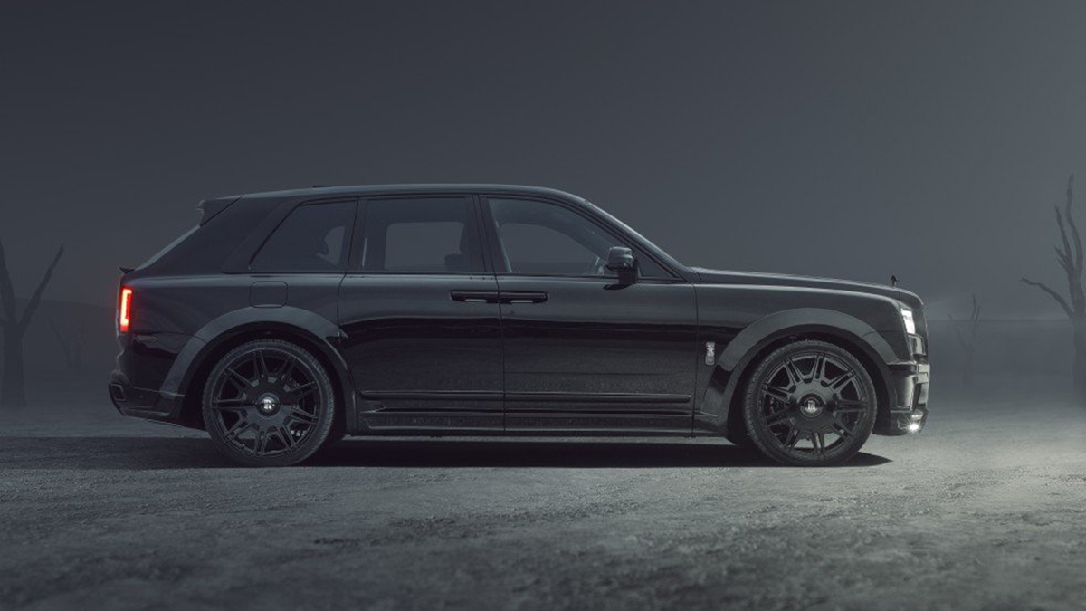 The SPOFEC Rolls-Royce Cullinan Black Badge profile