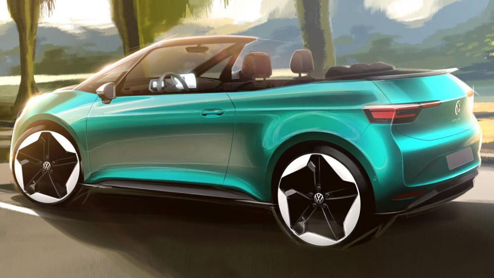 The VW ID.3 Cabriolet Concept
