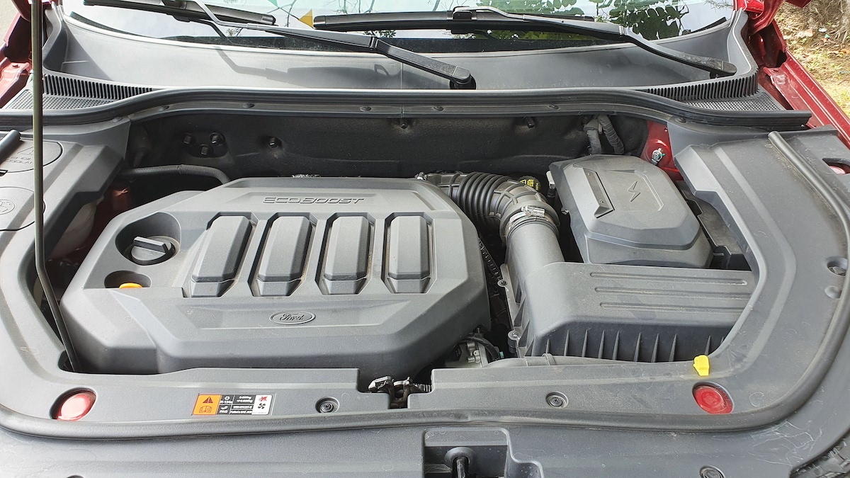 The 2021 Ford Territory engine